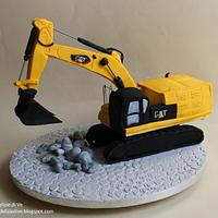 DIGGER CAKE by le delizie di ve