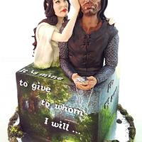 "The Lord Of The Rings ""Be my Valentine! movie nights""- Cake Collaboration"