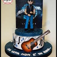 Cake tribute Ligabue