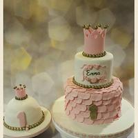 Pink princes cake