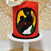 UNSA Team Red Collaboration Cake