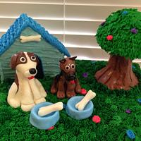 Dog lovers Cake by Jessica