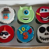 Disney Infinity cupcakes x