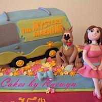 Scooby Doo and the Mystery Machine by Raewyn Read Cake Design