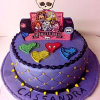 Monster high clawdeen Wolf themed by Angelica
