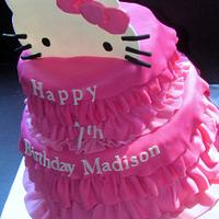 Hello Kitty Cake by NickySignatureCakes