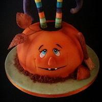 Halloween Pumpking Cake