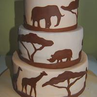 African cake