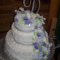 June Wedding Cake