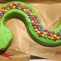 Snaky-cake