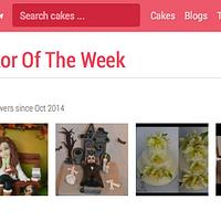 Cake Decorator of the week!