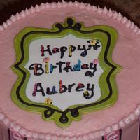 Pre-teen's Birthday Cake