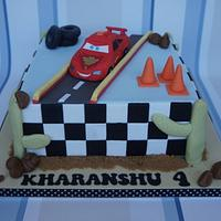 Disney Cars Cake by Let's Eat Cake
