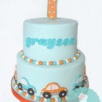 Little Car Cake