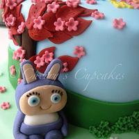 Waybuloo Birthday Cake by Cherry's Cupcakes