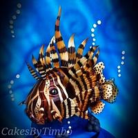 3D LionFish Cake!