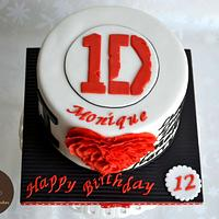 1Direction and Fondant frills by Maria
