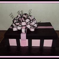 Gift Box Cake  by Griselle