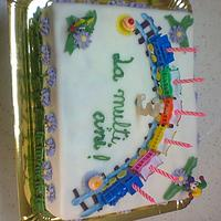 Colourful cake for child by Michelle0201