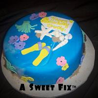 Luau Cake