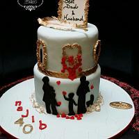 HOMAGE CAKE