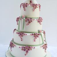 Two little ducks wedding cake!