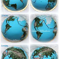 Globe - winning cakes