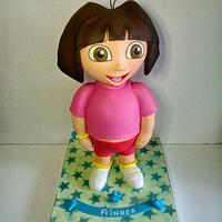 3D pie Dora the Explorer