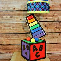 Balancing Toys project cake