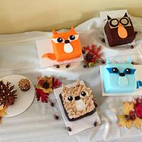 Woodland Animals for Baby Shower