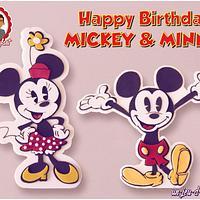 Happy 86th Birthday Mickey & Minnie