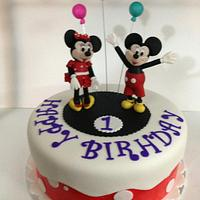 Minnie and Micky cake!!!