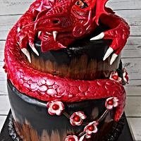 Red dragon wedding