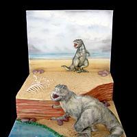 """""""Tyrannosaurus"""" cake"""