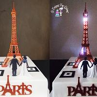 """Wedding cake """"Eiffel tower""""!!!"""