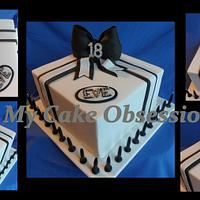 Eve's 18th  by My Cake Obsession