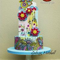 Festival of Lights collaboration cake