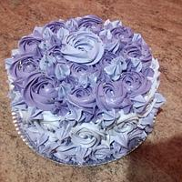 Three shades of purple