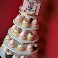 Juicy Couture cake/cupcakes