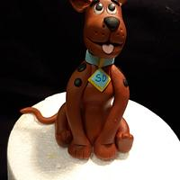 Scooby Doo ( Cake Topper)