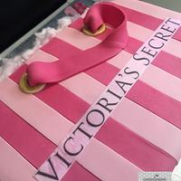 Victoria's Secret Bag Cake.