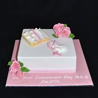 communion cake by Sue Ghabach