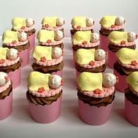 Baby 1st month Cupcakes