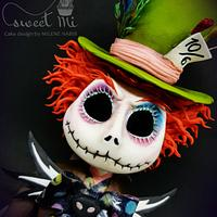 Jack Skellington Mad Hatter - tim Burton collaboration