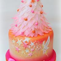 Magical Fairy Christmas Cake