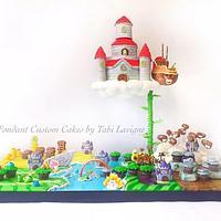 Super Mario Map Cake