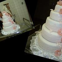 Wedding cake for son