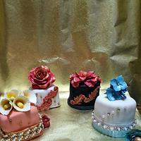 My pretty mini cakes