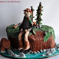 Kodiak Fishing Cake