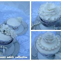 'The classic white collection'